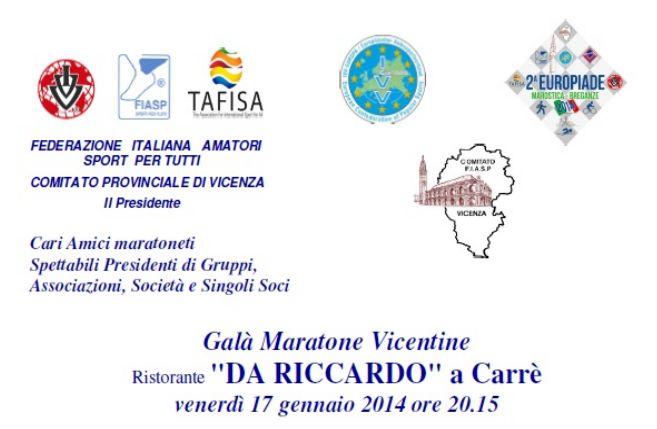 Calendario Marce Fiasp Vicenza 2019.Gala Maratone Vicentine E 2 Europiade A S D Marathon