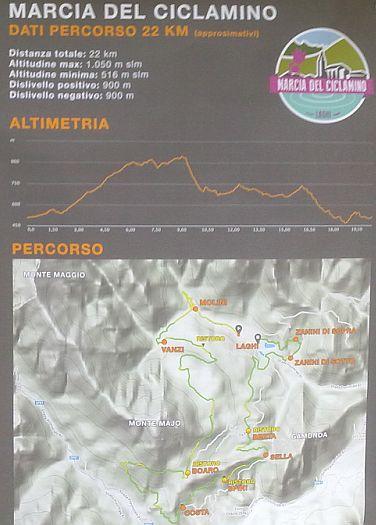 Mappa Marcia del Ciclamino